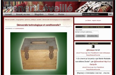 http://www.renartleveille.com/de%cc%81mocratie-technologique-et-conditionnelle/