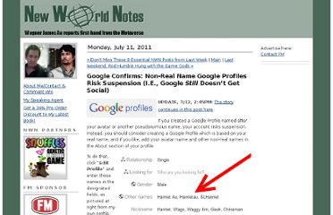 http://nwn.blogs.com/nwn/2011/07/google-profiles-pseudonym-avatar-names-suspension-policy.html
