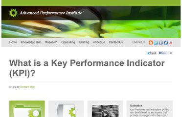 http://www.ap-institute.com/Key%20Performance%20Indicators.html