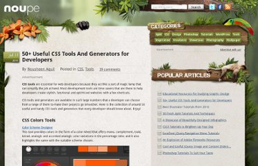 http://www.noupe.com/css/50-useful-css-tools-and-generators-for-developers.html