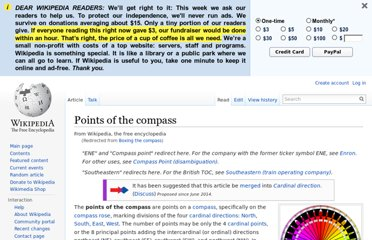 http://en.wikipedia.org/wiki/Boxing_the_compass