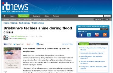 http://www.itnews.com.au/News/244149,brisbanes-techies-shine-during-flood-crisis.aspx