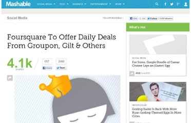 http://mashable.com/2011/07/11/foursquare-daily-deals/