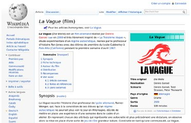 http://fr.wikipedia.org/wiki/La_Vague_(film)