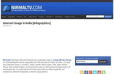http://www.nirmaltv.com/2011/06/02/internet-usage-in-india-infographics/