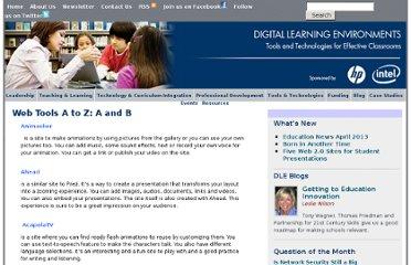 http://www.guide2digitallearning.com/tools_technologies/web_tools_z_and_b