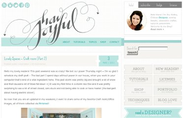 http://www.howjoyful.com/2011/03/lovely-spaces-craft-room/