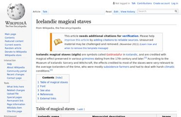 http://en.wikipedia.org/wiki/Icelandic_magical_staves