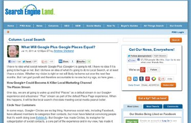 http://searchengineland.com/what-will-google-plus-google-places-equal-84964
