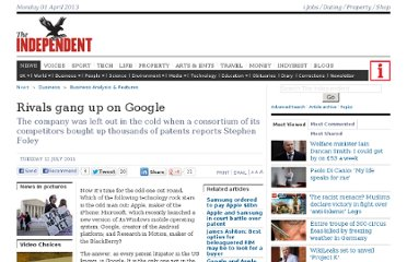 http://www.independent.co.uk/news/business/analysis-and-features/rivals-gang-up-on-google-2312239.html