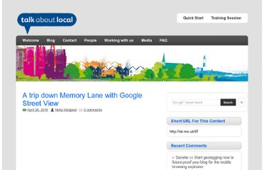 http://talkaboutlocal.org.uk/a-trip-down-memory-lane-with-google-street-view/