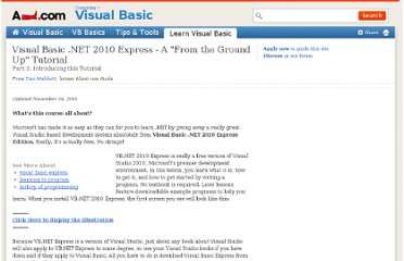 http://visualbasic.about.com/od/learnvbnet/a/LVBE_L1.htm