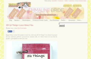 http://emmalinebride.com/gifts/diy-52-things-i-love-about-you/