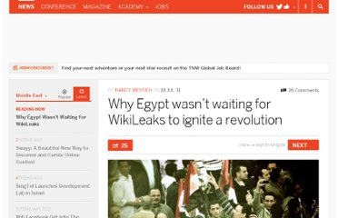 http://thenextweb.com/me/2011/07/10/why-egypt-wasnt-waiting-for-wikileaks-to-ignite-a-revolution/