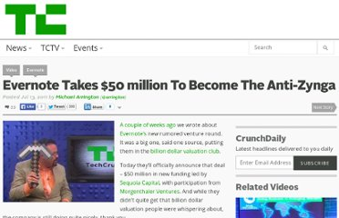 http://techcrunch.com/2011/07/13/evernote-takes-50-million-to-become-the-anti-zynga/