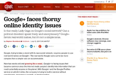 http://news.cnet.com/8301-30685_3-20078671-264/google-faces-thorny-online-identity-issues/
