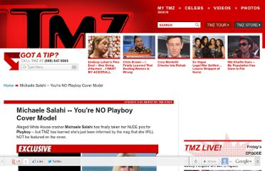 http://www.tmz.com/2011/04/18/michaele-salahi-playboy-cover-website-white-house-party-crasher-real-housewives-of-dc/