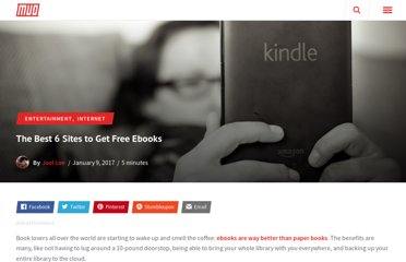 http://www.makeuseof.com/tag/the-best-6-sites-to-get-free-ebooks/