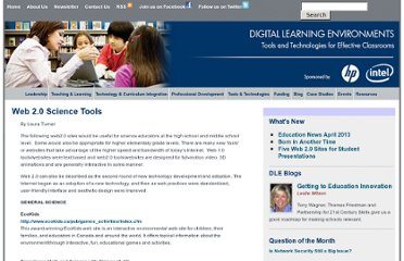 http://www.guide2digitallearning.com/professional_development/web_2_0_science_tools