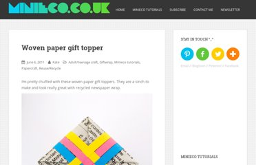 http://www.minieco.co.uk/woven-paper-gift-topper/