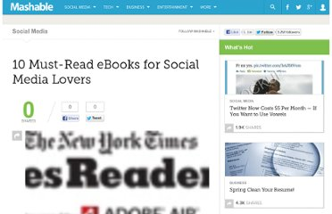 http://mashable.com/2009/12/21/must-read-ebooks/