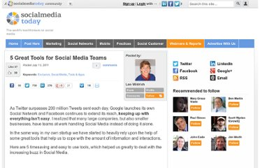 http://socialmediatoday.com/leo-widrich/318151/5-great-tools-social-media-people-working-teams