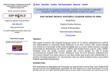 http://www.esp-world.info/Articles_14/DESIGNING%20ESP%20COURSES.htm