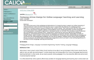 https://calico.org/a-102-Pedagogydriven%20Design%20for%20Online%20Language%20Teaching%20and%20Learning.html