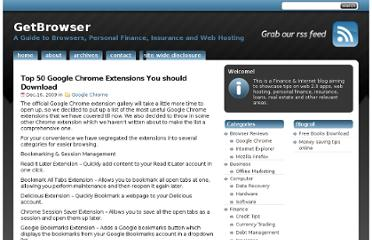 http://www.getbrowser.net/top-50-google-chrome-extensions-you-should-download/