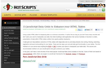 http://www.hotscripts.com/blog/15-javascript-data-grids-enhance-html-tables/