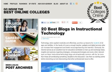 http://www.bestcollegesonline.com/blog/2011/07/13/20-best-blogs-in-instructional-technology/