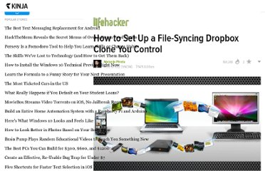 http://lifehacker.com/5821145/how-to-set-up-a-file+syncing-dropbox-clone-you-control