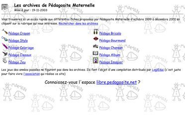 http://pedagosite.net/archives/index.html