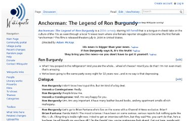 http://en.wikiquote.org/wiki/Anchorman:_The_Legend_of_Ron_Burgundy