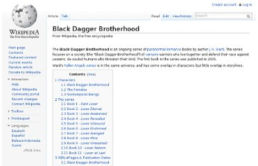 http://en.wikipedia.org/wiki/Black_Dagger_Brotherhood#Book_7_-_Lover_Avenged