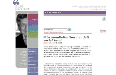 http://www.elie-cohen.eu/article.php3?id_article=102