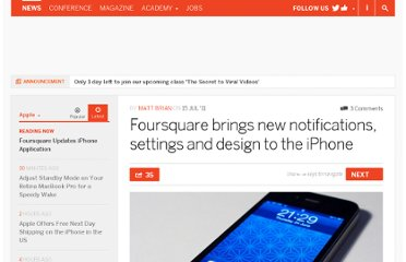 http://thenextweb.com/apple/2011/07/15/foursquare-brings-new-notifications-settings-and-design-to-the-iphone/