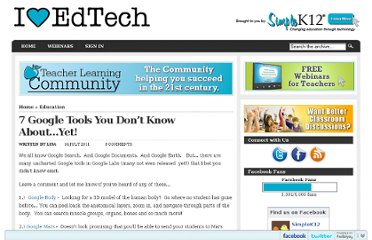 http://blog.simplek12.com/education/7-google-tools-you-dont-know-about/