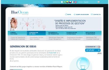 http://www.blueocean-innovation.com/generacion_de_ideas.php