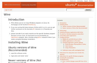 https://help.ubuntu.com/community/Wine