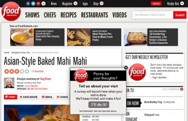 http://www.foodnetwork.com/recipes/guy-fieri/asian-style-baked-mahi-mahi-recipe/index.html