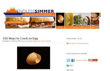 http://www.endlesssimmer.com/2009/04/16/100-ways-to-crack-an-egg/