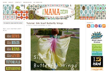 http://thismamamakesstuff.com/2009/11/week-of-tutorials-silk-scarf-butterfly-wings/