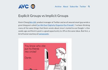 http://www.avc.com/a_vc/2011/07/explicit-groups-vs-implicit-groups.html