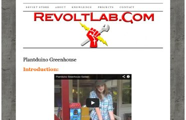 http://revoltlab.com/projects/plantduino-greenhouse/