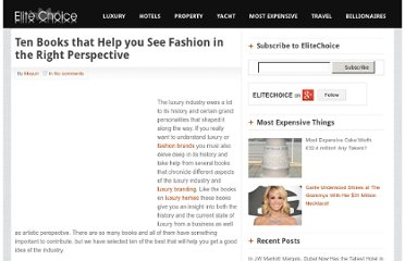 http://elitechoice.org/2011/07/15/ten-books-that-help-you-see-fashion-in-the-right-perspective/