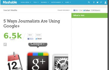 http://mashable.com/2011/07/17/journalists-using-google-plus/
