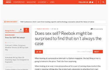 http://thenextweb.com/dd/2011/07/17/does-sex-sell-reebok-might-be-surprised-to-find-that-isnt-always-the-case/