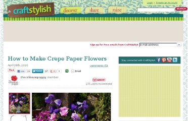 http://www.craftstylish.com/item/62829/how-to-make-crepe-paper-flowers