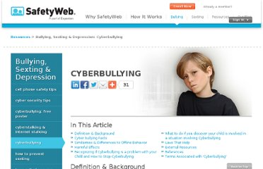 http://www.safetyweb.com/stop-cyber-bullying